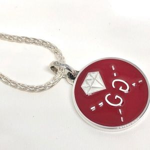 New Gucci GG Ghost Reversible Charm + Free Chain